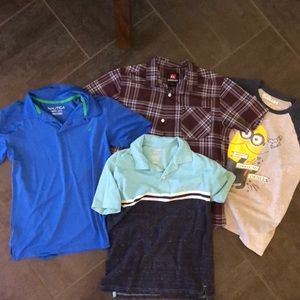 Boys Short Sleeve Summer size medium Shirt bundle